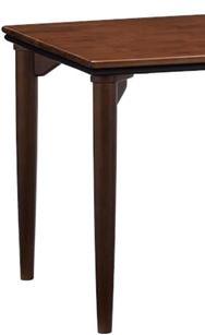 ダイニングテーブル脚 ラヴィントラ DT4本脚/H700 ※SP KWN(ダーク色)
