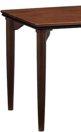 ダイニングテーブル脚 ラヴィントラ DT4本脚/H700 ※SP KWN(ダーク色):ダイニングテーブル脚 ※天板と脚が別売りです
