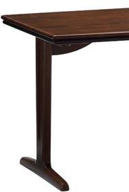 ダイニングテーブル脚 ラヴィントラ DT双脚/H700 ※SP KWN(ダーク色)