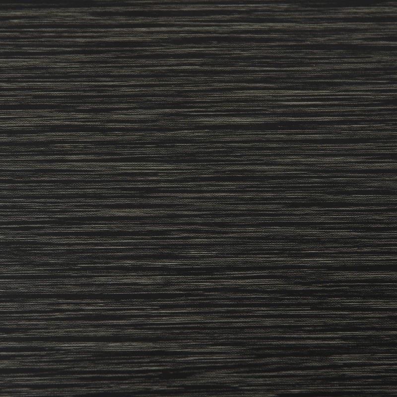 ダイニングテーブル セーヌ�Uテーブル 天板BK/脚BK:UVコーティング