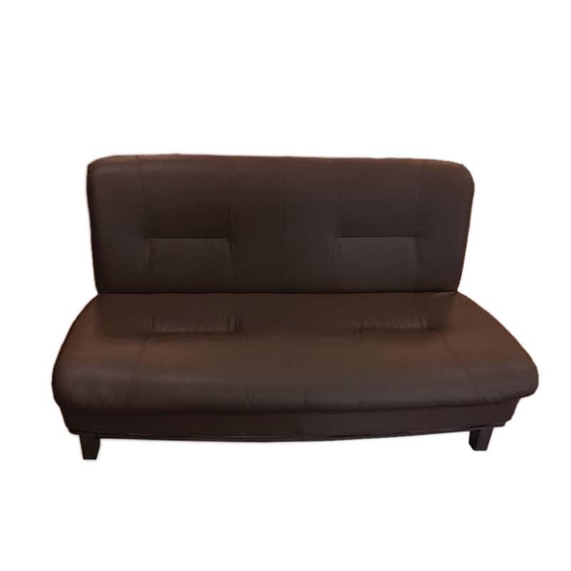 2人掛けソファ ロベルト ダークブラウン:《ゆったりとした居心地のよさと食卓を兼用した、 重厚感のある「ソファー」》