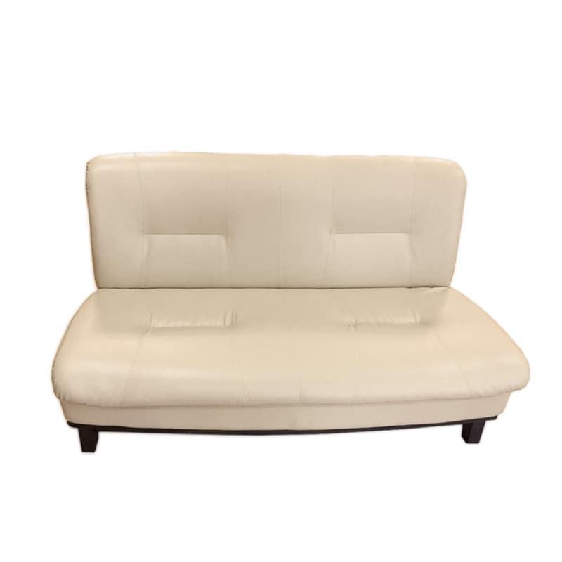 2人掛けソファ ロベルト アイボリー:《ゆったりとした居心地のよさと食卓を兼用した、 重厚感のある「ソファー」》