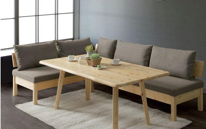 LDテーブル 優155テーブル:一体型だからスペース広々