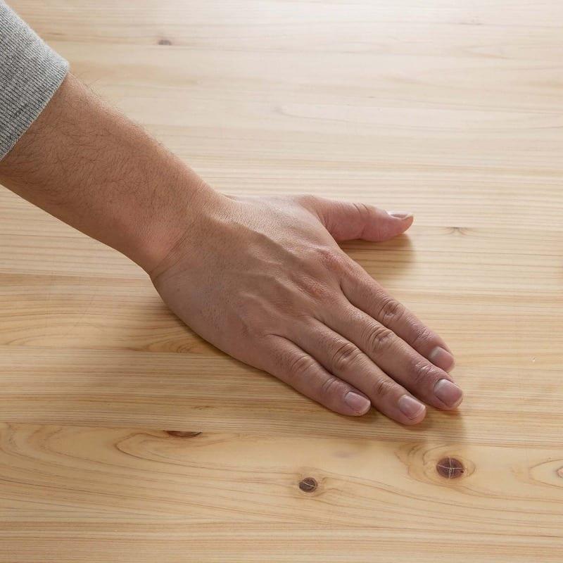 LDテーブル 優155テーブル:天然木の触り心地