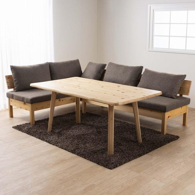 LDテーブル 優155テーブル:無垢材とは