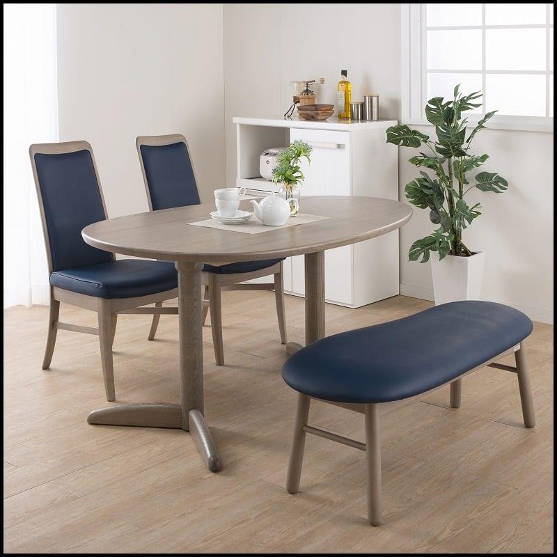 :タマゴ型テーブル