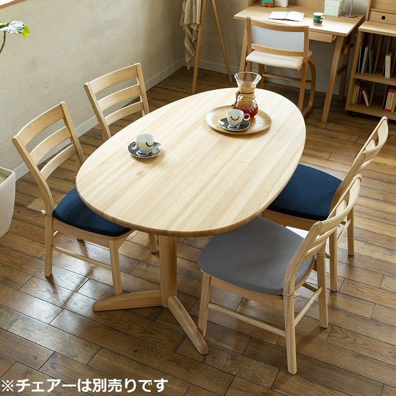 ダイニングテーブル サイン D18515タマゴ:生活シーン提案可能な変形テーブル