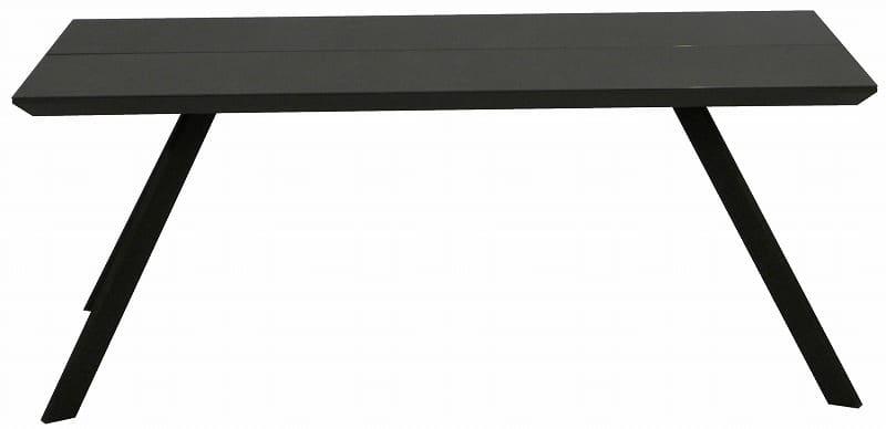 ダイニングテーブル ガリシア 180DT 4本脚 BK:モダンなデザインかつ日常の悩みも解決してくれる機能性抜群のダイニングセット