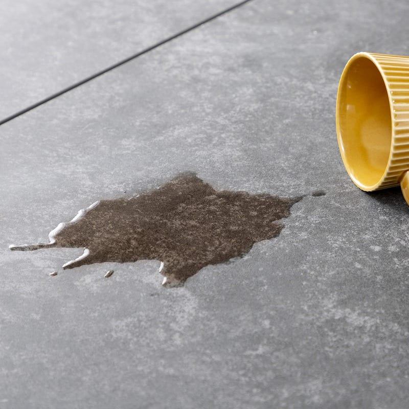 ダイニングテーブル ガリシア 180DT 4本脚 BK:汚れにも強い