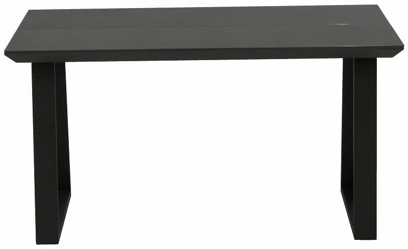ダイニングテーブル ガリシア135DT 2本脚 BK天板
