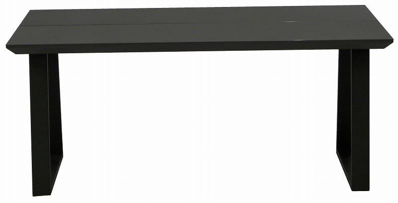 ダイニングテーブル ガリシア165DT 2本脚 BK天板:モダンなデザインかつ日常の悩みも解決してくれる機能性抜群のダイニングセット