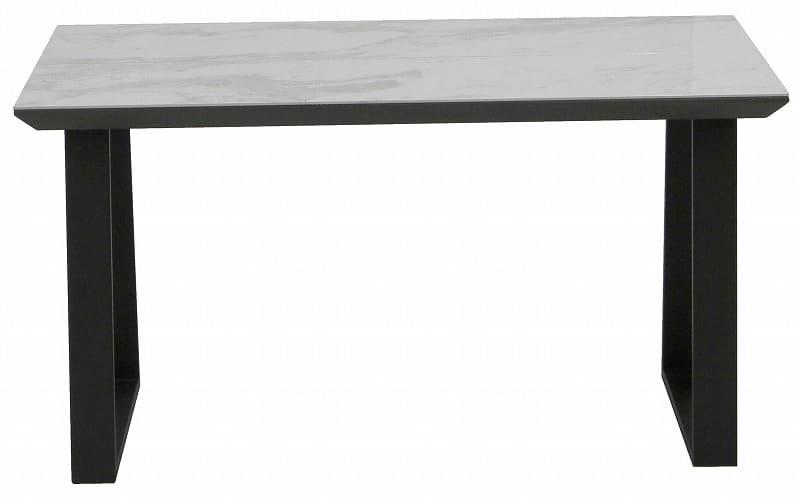 ダイニングテーブル ガリシア135DT 2本脚 WH天板:モダンなデザインかつ日常の悩みも解決してくれる機能性抜群のダイニングセット
