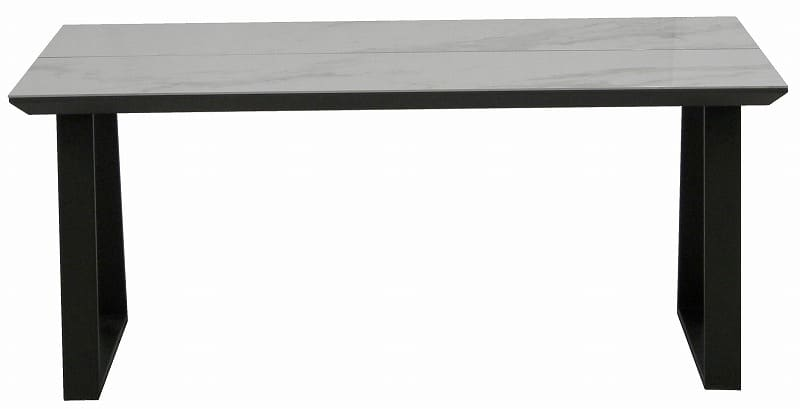 ダイニングテーブル ガリシア165DT 2本脚 WH天板