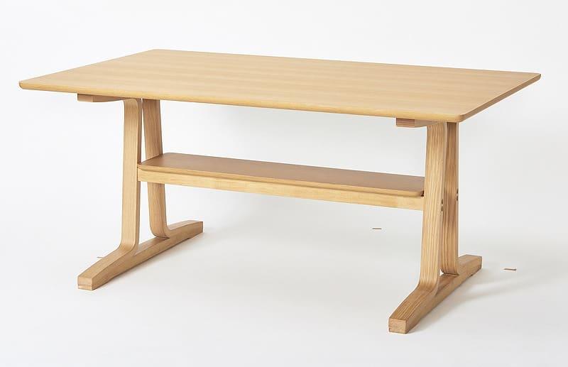 ダイニングテーブル NDLT−1300 NAナチュラル:ダイニングテーブル