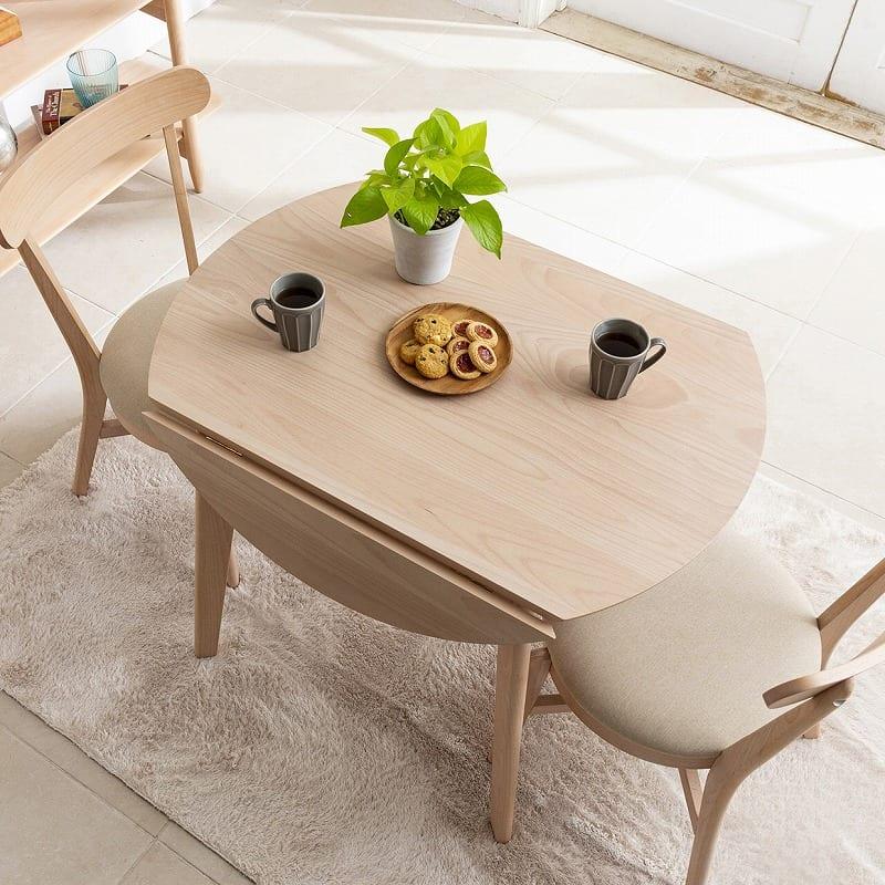 ダイニングテーブル マリン90:ティータイムスタイル