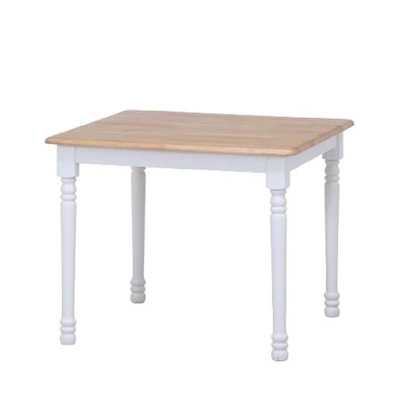 ダイニングテーブル マキアート WH(ホワイト):ダイニングテーブル