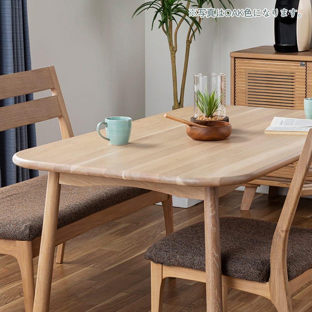 ダイニングテーブル CWT−001 幅135 OAK(オーク):エコなデザイン