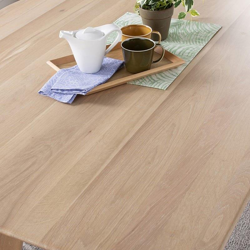 ダイニングテーブル CWT−004 R OAK(オーク):無垢材仕様の天板