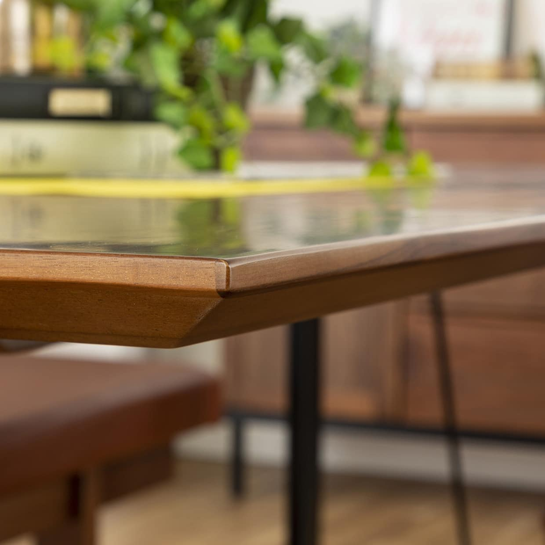 ダイニングテーブル CWT−005 150指定 OAK(オーク):テーブルの縁が特徴的