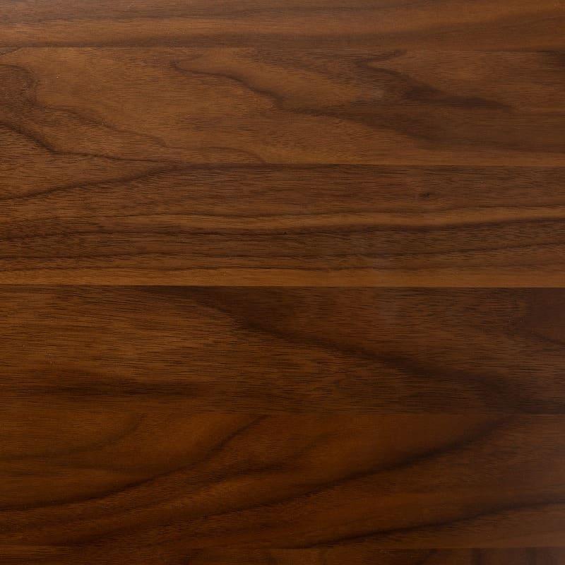 背付ベンチ CWB−001 OAK OAK/BK:天板裏まで化粧仕上げ