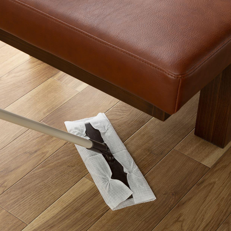 背付ベンチ CWB−003 180ベンチ OAK:お掃除しやすい高さ設計