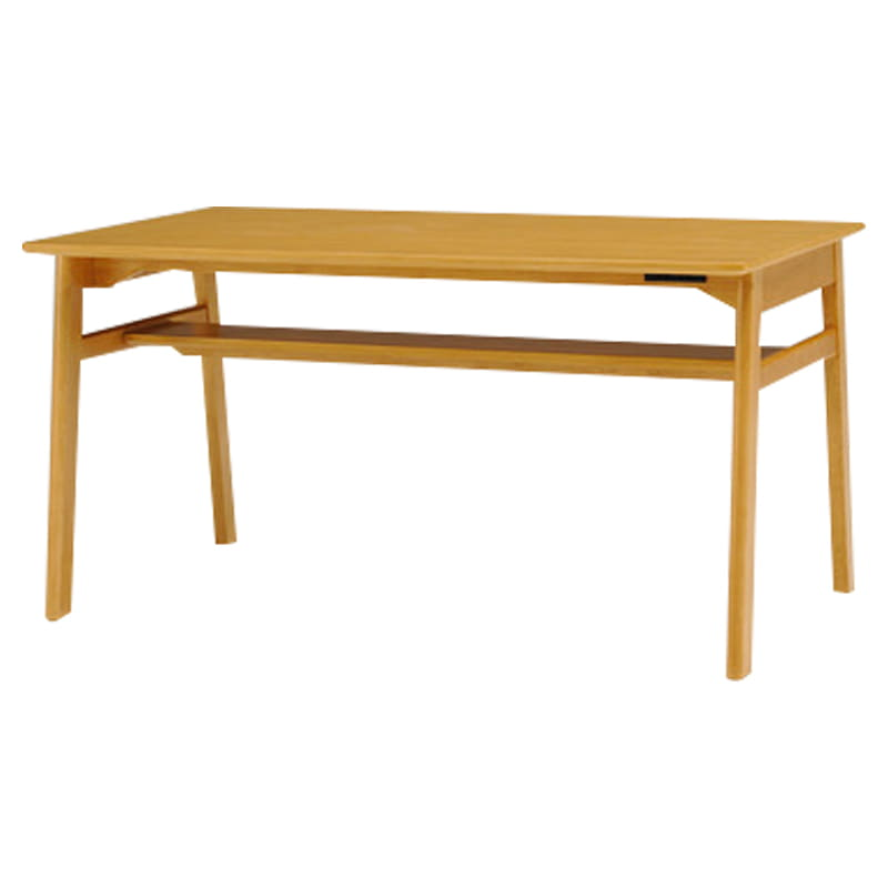 ダイニングテーブル クオーレ135 NT:ダイニングテーブル