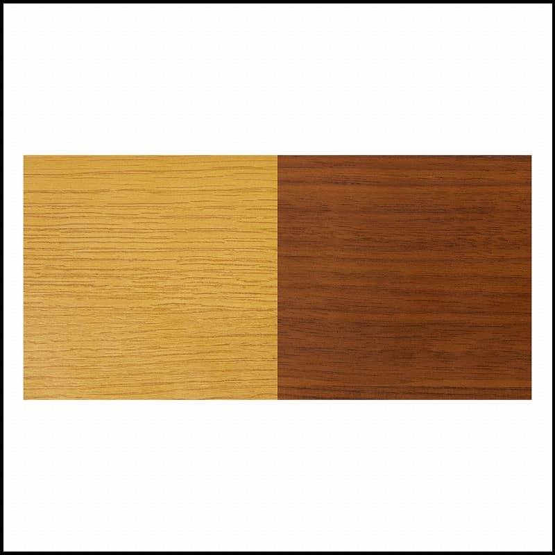 木製デスク(ライト付) クオーレ WN/ライトBK:木部は選べる2色!