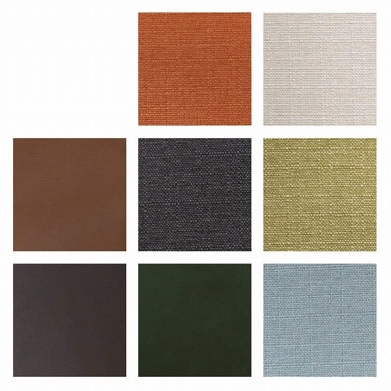 LDセット ブレード�U 【4点セット】:チェアの張地は選べる8色展開