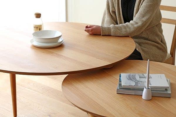 ダイニングテーブル バルーン AL アルダー材