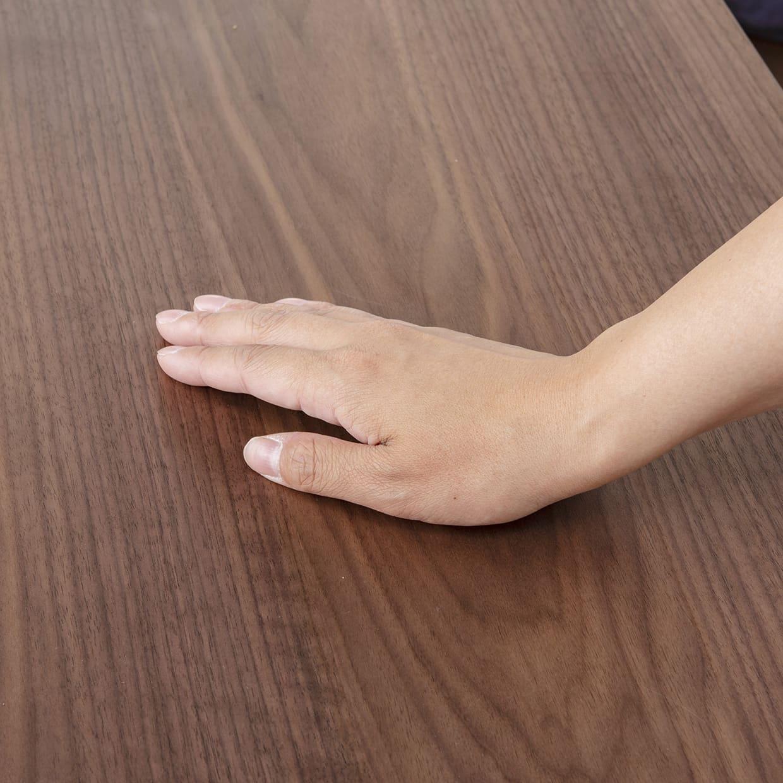 ダイニングテーブル レシピ 145:天板は滑らかな触り心地