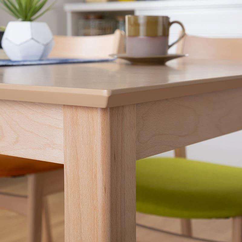 ダイニングテーブル サーフ130 NA:おしゃれなテーブル縁