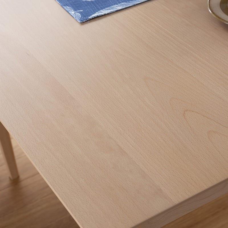 ダイニングテーブル サーフ130 NA:木目調デザインの天板
