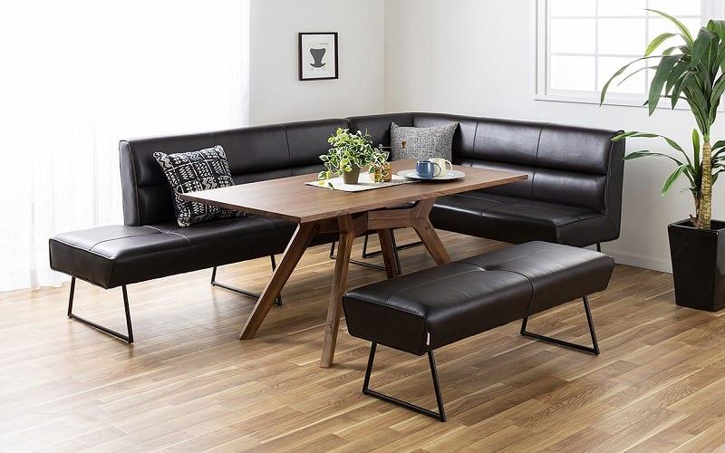 LDテーブル マルクト 150 ウォールナット:上質なイタリアデザインソファ