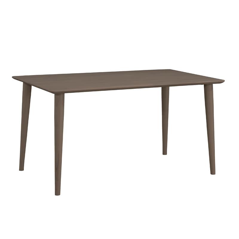 ダイニングテーブル ラヴィータ 135×80テーブル 4本脚 BK:ダイニングテーブル