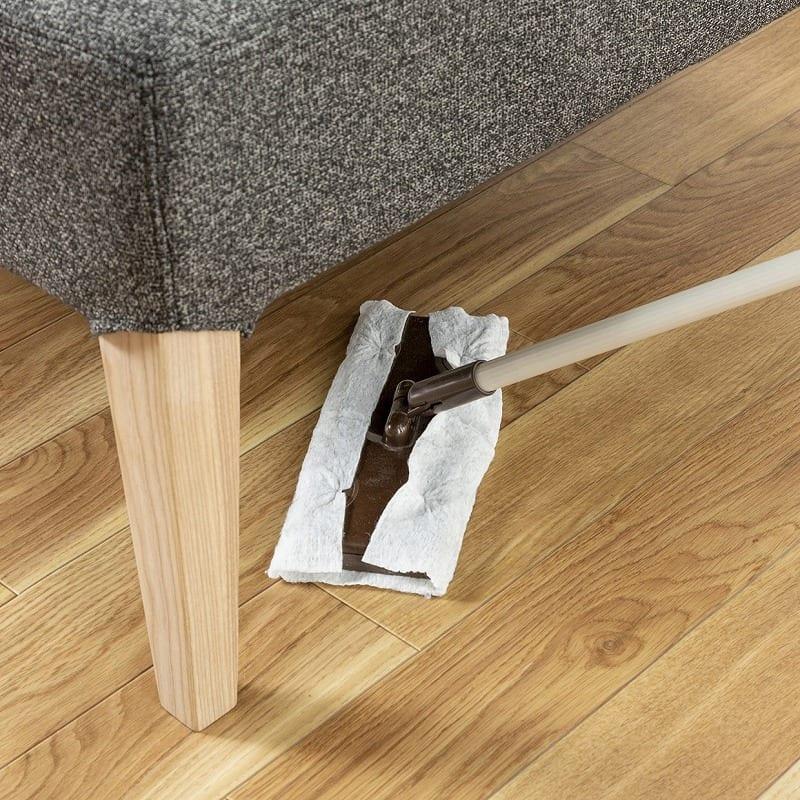 LDチェアー ディープ コーナーLDソファ:お掃除しやすい高さ設計