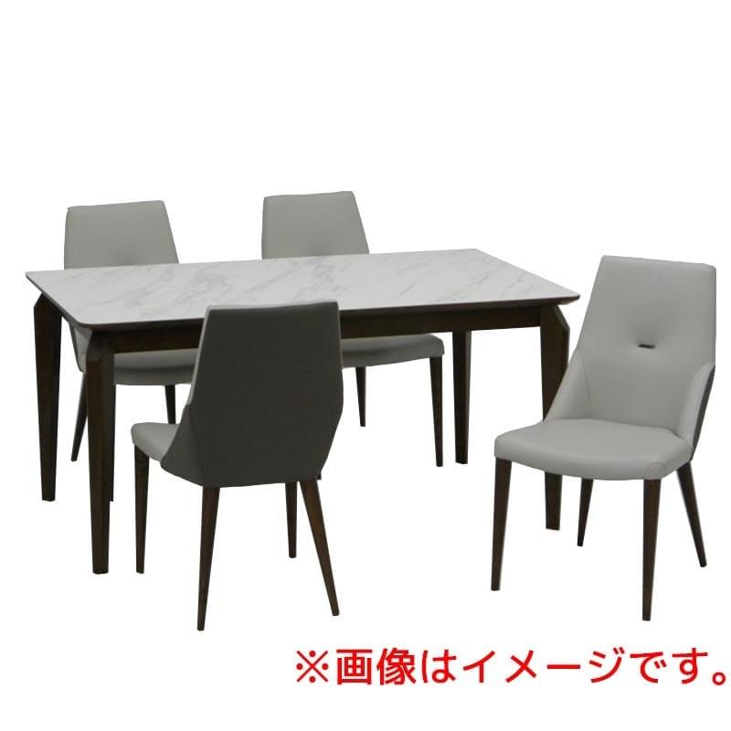 ダイニング5点セット レジーナ DBN(天然石 プリント):ダイニングテーブル