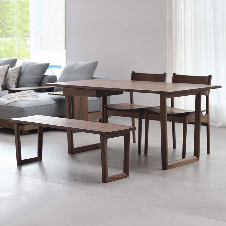 ダイニング5点セット グリン・リーベ(テーブル:150テーブル/板座チェア×2/120ベンチ/オプション引出)WN:飽きのこないシンプルなデザイン
