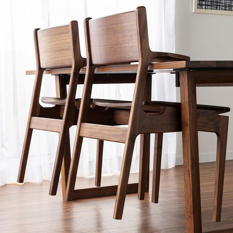 ダイニング5点セット グリン・リーベ(テーブル:150テーブル/板座チェア×2/120ベンチ/オプション引出)WN:お掃除の時にも便利