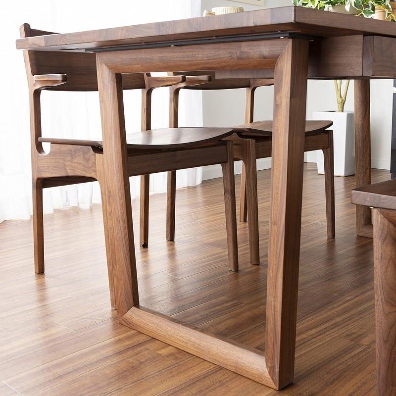 ベンチ ベンチ120 グレン WN:特徴的なテーブル脚