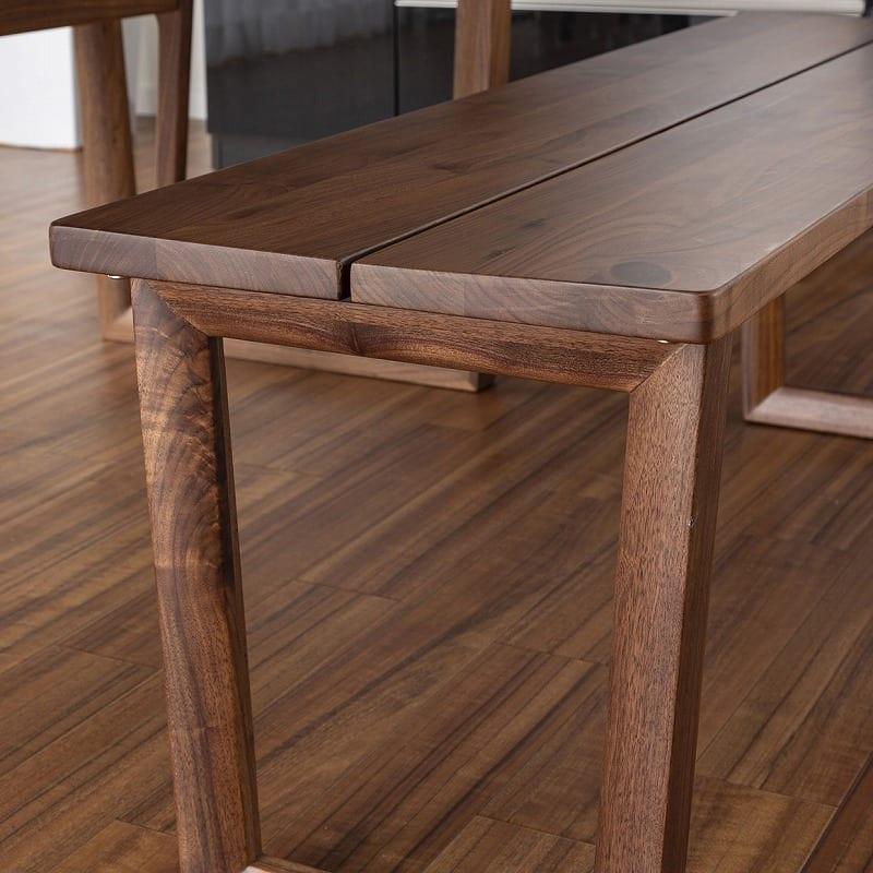 ベンチ ベンチ120 グレン WN:フィットするベンチ座面