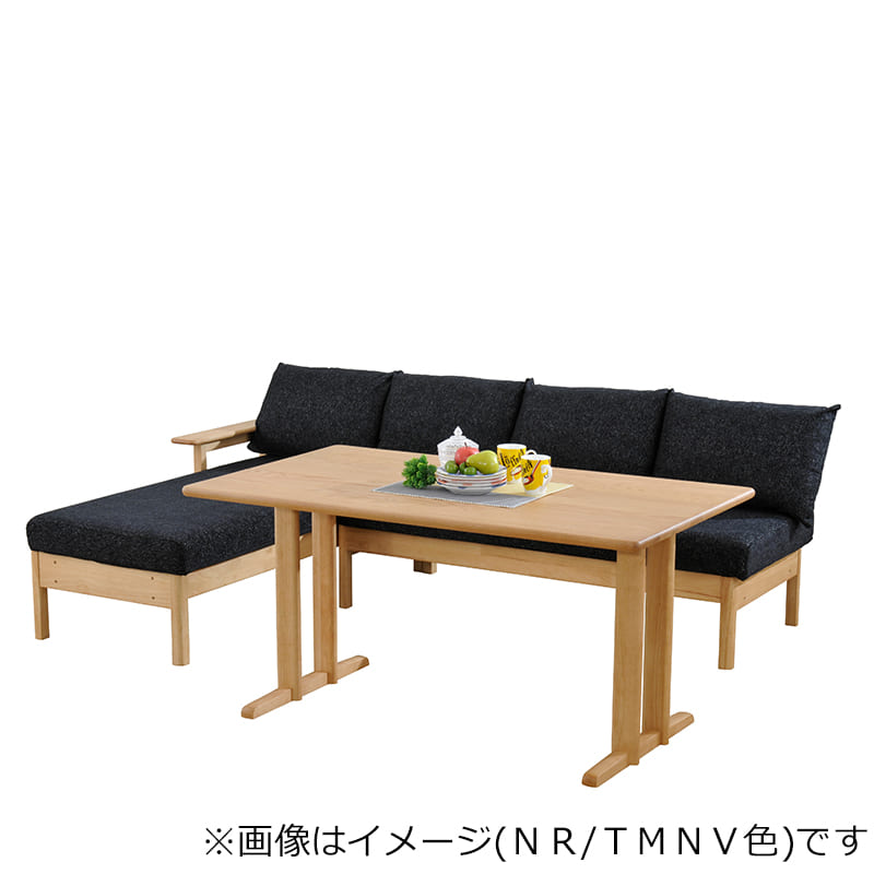 LDテーブル W/Oセレクト(スペーサー付き) 天板NR・脚NR