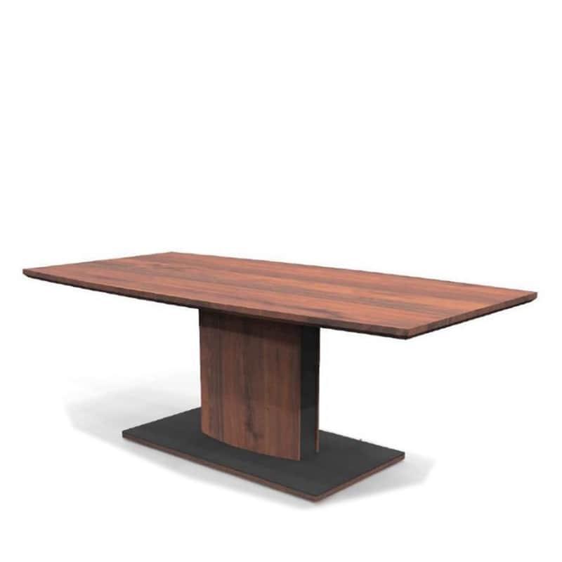 ダイニングテーブル カリーナ(ブレシア)165 WN:木質感の高いモダンダイニングシリーズ