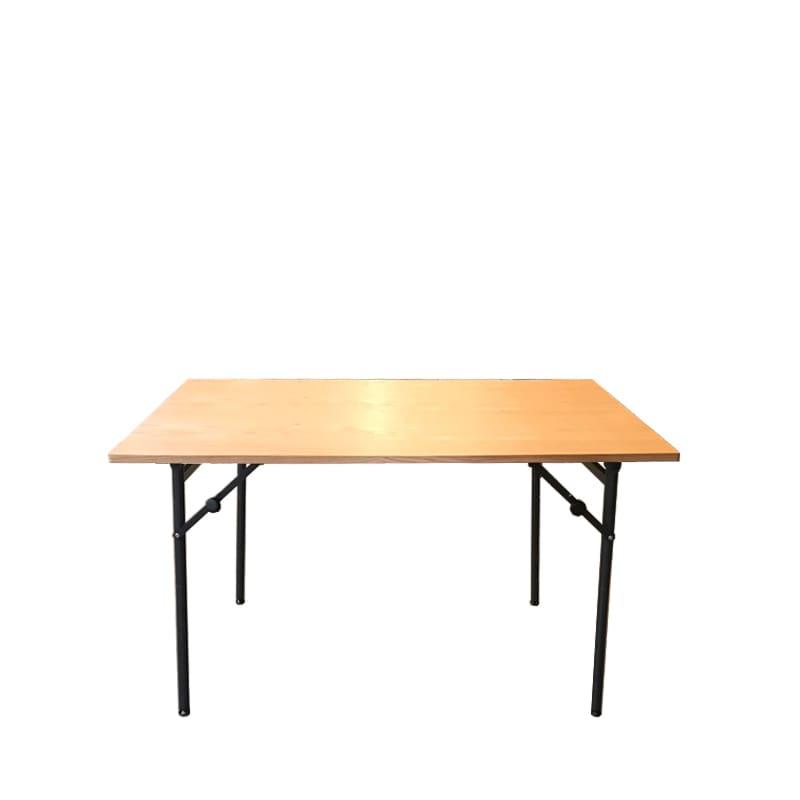 ダイニングテーブル トイ フォールディングテーブル120 OAK:高さが2段階調節出来るテーブルです