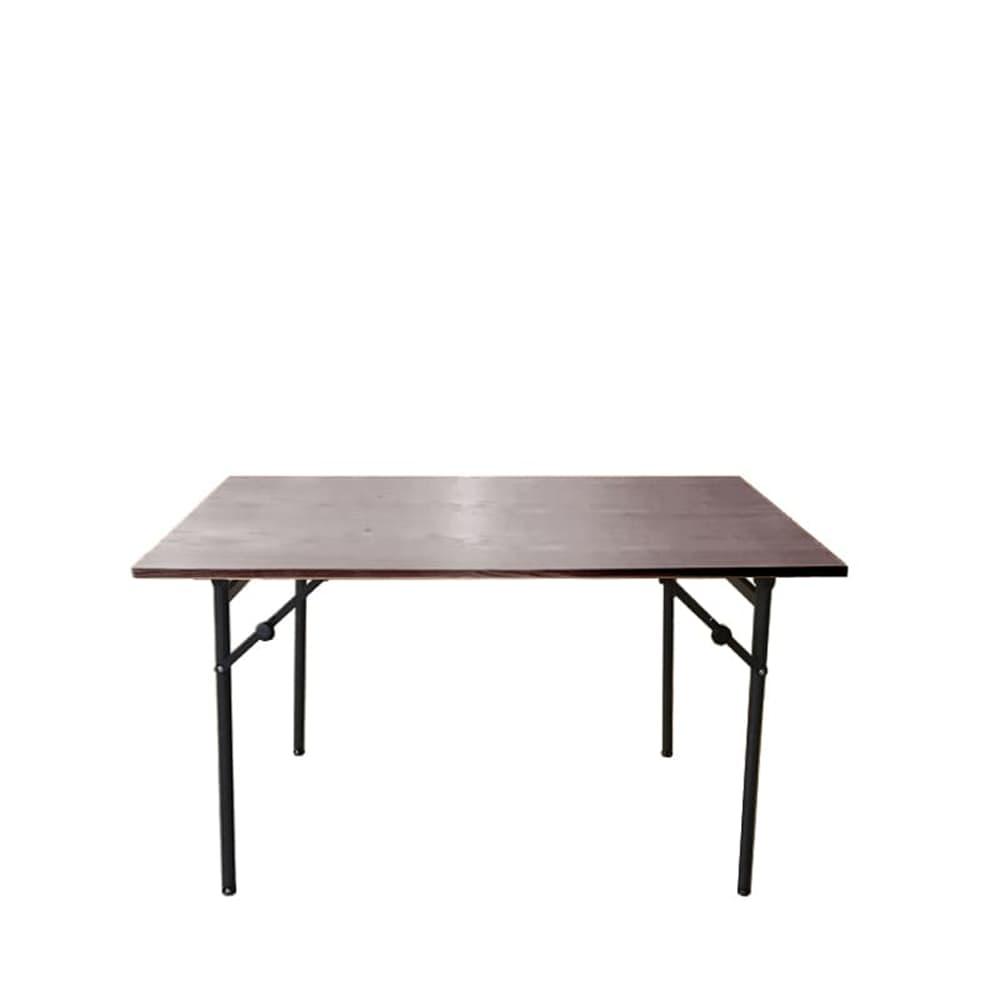ダイニングテーブル トイ フォールディングテーブル120 WN:高さが2段階調節出来るテーブルです