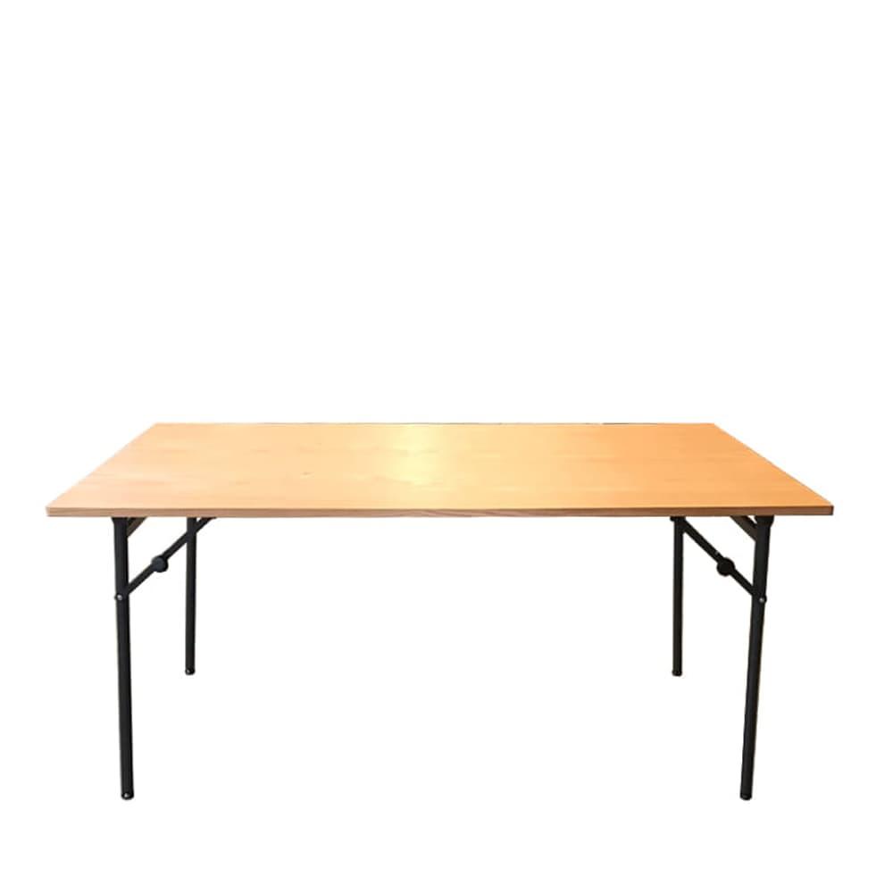 ダイニングテーブル トイ フォールディングテーブル150 OAK:高さが2段階調節出来るテーブルです