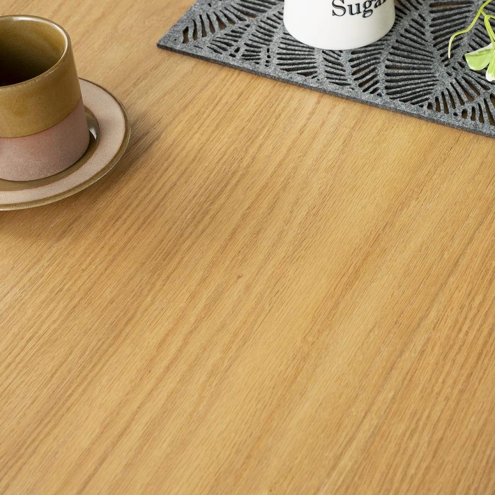 ダイニングテーブル トイ フォールディングテーブル150 OAK:木の質感を残したラッカー仕上げ