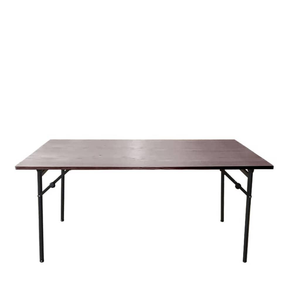 ダイニングテーブル トイ フォールディングテーブル150 WN:高さが2段階調節出来るテーブルです