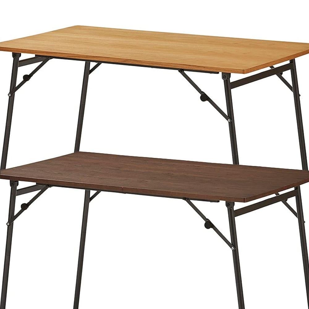 ダイニングテーブル トイ フォールディングテーブル150 WN:選べる2色