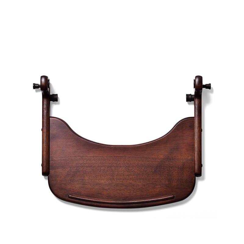 ベビーチェア すくすくローチェア専用 テーブル ダークブラウン:すくすくローチェア専用