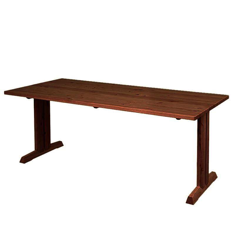 ダイニングテーブル 柚180テーブル MBR:全て国産ヒノキ無垢材を使用したダイニングシリーズです